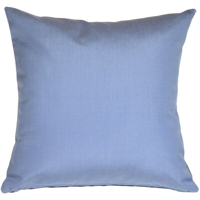 Londyn Outdoor Sunbrella Throw Pillow Color: Air Blue
