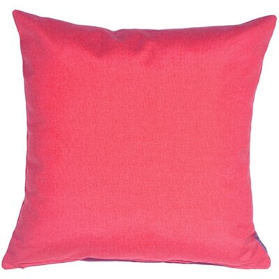 Ovid Sunburst Petunia Outdoor Throw Pillow