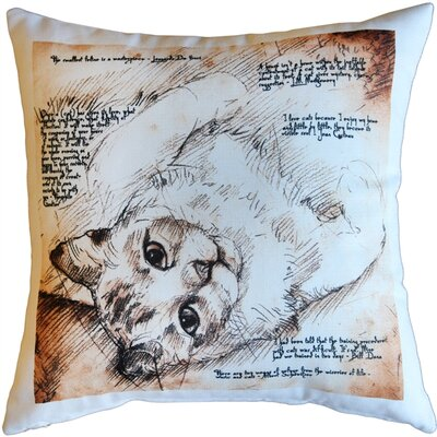 Napoli Cats Indoor/Outdoor Throw Pillow