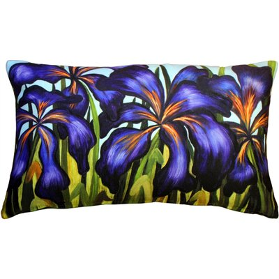 Bradshaw Irises Indoor/Outdoor Lumbar Pillow