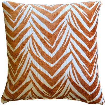 Higgins Throw Pillow Color: Orange