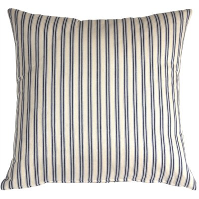 Aurora�Ticking Cotton Throw Pillow