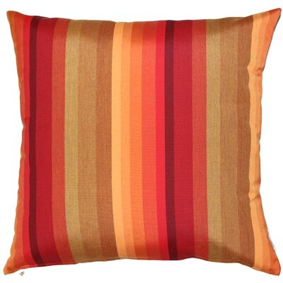 Cheryton Sunset Outdoor Sunbrella Throw Pillow
