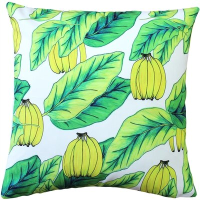Franklinville Banana Jungle Throw Pillow