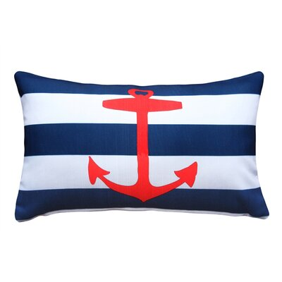 Leonor� Anchor Nautical Rectangular Indoor/Outdoor Lumbar Pillow