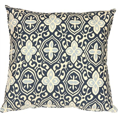 Victorina Handprint Cotton Throw Pillow Size: 15 H x 15 W x 4 D
