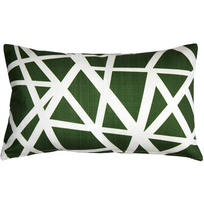 Vanbrunt Indoor/Outdoor Lumbar Pillow Color: Green