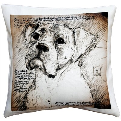 Cecilwood Boxer Dog Indoor/Outdoor Throw Pillow