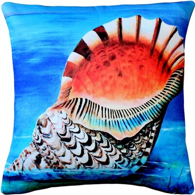 Maui Great Triton Throw Pillow