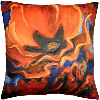 Hubbard Indoor/Outdoor Throw Pillow Color: Orange