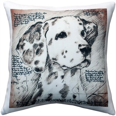Dalmatian Dog Indoor/Outdoor Throw Pillow