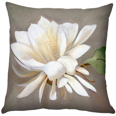 Cactus Flower Indoor/Outdoor Throw Pillow
