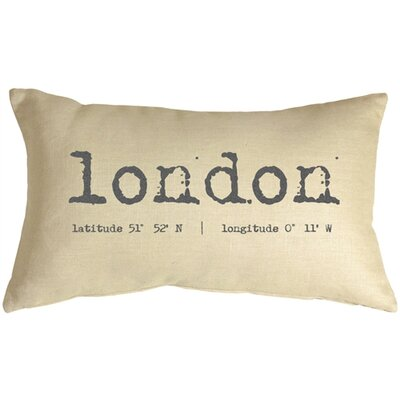 Giroux London Coordinates Linen Lumbar Pillow