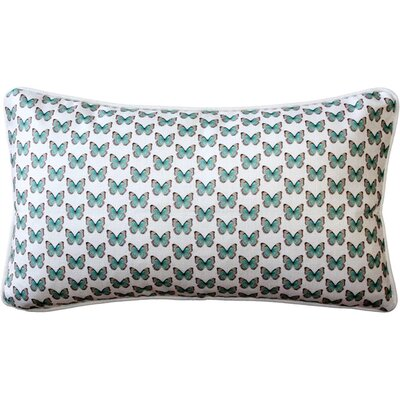 Moravia Butterfly Tiny Scale Lumbar Pillow