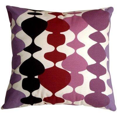 Vanatta Throw Pillow Color: Purple