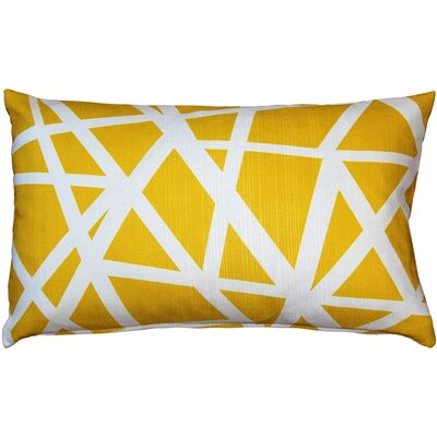 Vanbrunt Indoor/Outdoor Lumbar Pillow Color: Yellow