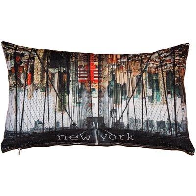 Everly Brooklyn Bridge Lumbar Pillow