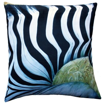 Humphrey Zebra Indoor/Outdoor Throw Pillow