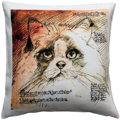 Charmell Ragdoll Cat Indoor/Outdoor Throw Pillow
