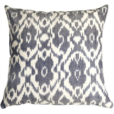 Euan Ikat Cotton Throw Pillow
