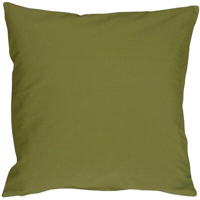 Caravan Cotton Throw Pillow Size: 20 H x 20 W x 6 D, Color: Olive Green