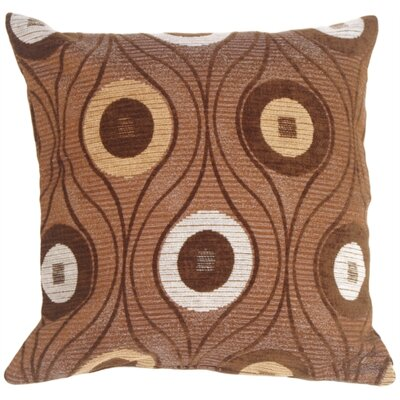 Gosnold Throw Pillow Color: Chocolate