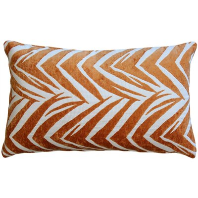 Higgins Lumbar Pillow Color: Orange