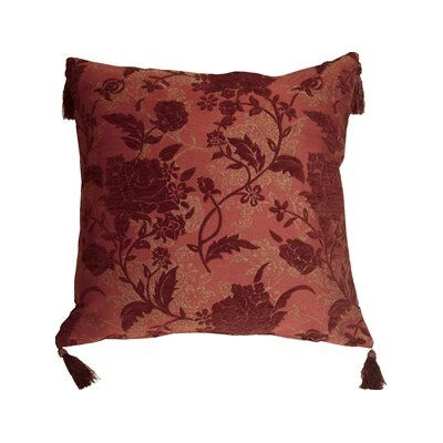 Weiss Traditional Floral Throw Pillow