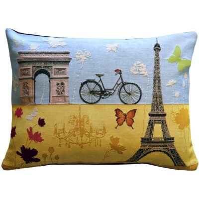 Fortier Summer in Paris Lumbar Pillow