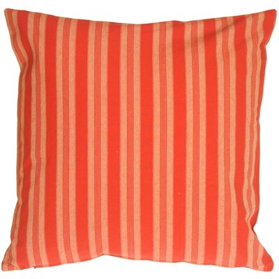 Tuscan Stripes Cotton Throw Pillow