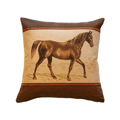Covina Horse Throw Pillow