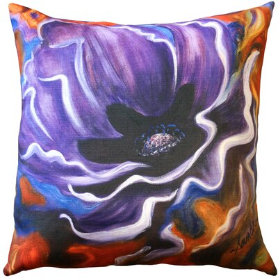 Hubbard Indoor/Outdoor Throw Pillow Color: Purple