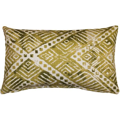 Forrest Lumbar Pillow Color: Green