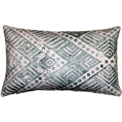 Forrest Lumbar Pillow Color: Blue