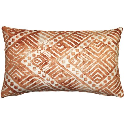 Forrest Lumbar Pillow Color: Orange