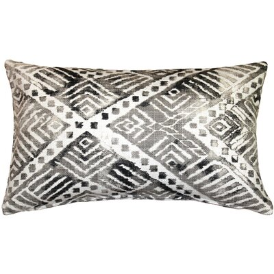Forrest Lumbar Pillow Color: Gray
