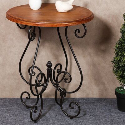 Eckhardt Scroll End Table