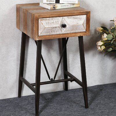 Medfield End Table with Storage