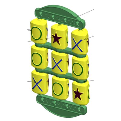 Tic Tac Toe Swing Set Toy T3