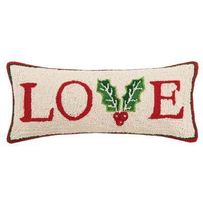 Love Wool Lumbar Pillow