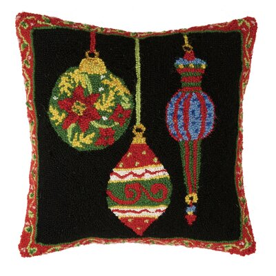 Ornament Hook Wool Throw Pillow