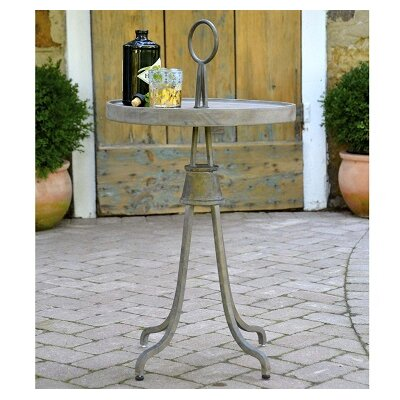 Vintage Industrial End Table