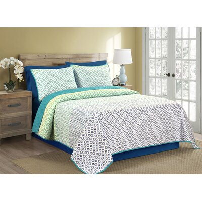 Viva Reversible Quilt Set Size: Full/Queen