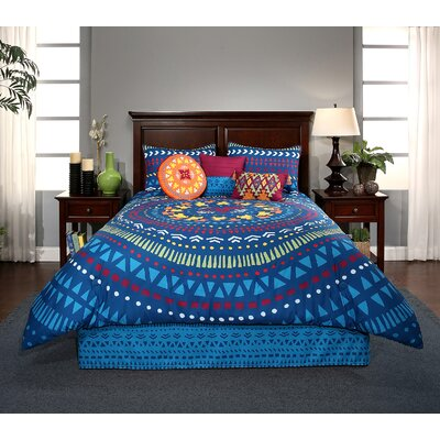 Alegria Reversible Comforter Set Size: Twin