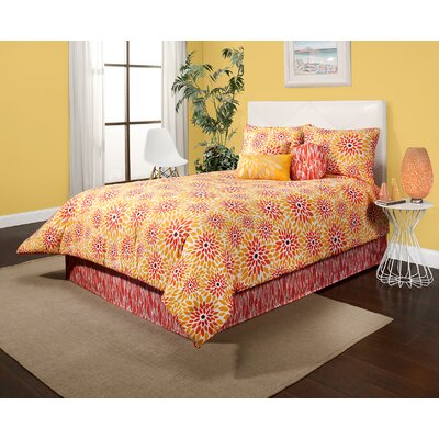 Girasol Reversible Comforter Set Size: King