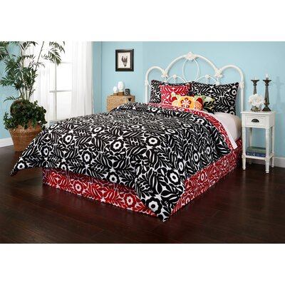 Otomi Reversible Comforter Set Size: Full/Queen