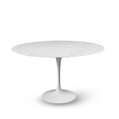 Round Dining Table Size: 28.25 H x 47.25 W x 47.25 D