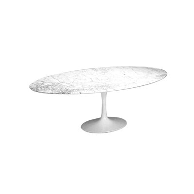 Oval Dining Table Size: 28.25 H x 96 W x 54 D