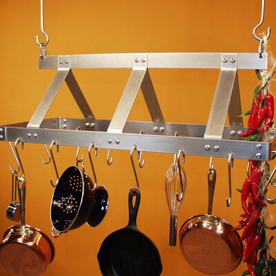 HSM Galley Rectangular Hanging Pot Rack at Sears.com