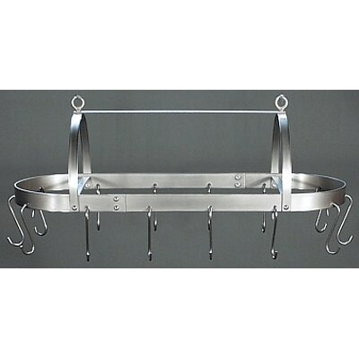 HSM Hooded Oval Hanging Pot Rack - Grid: With at Sears.com